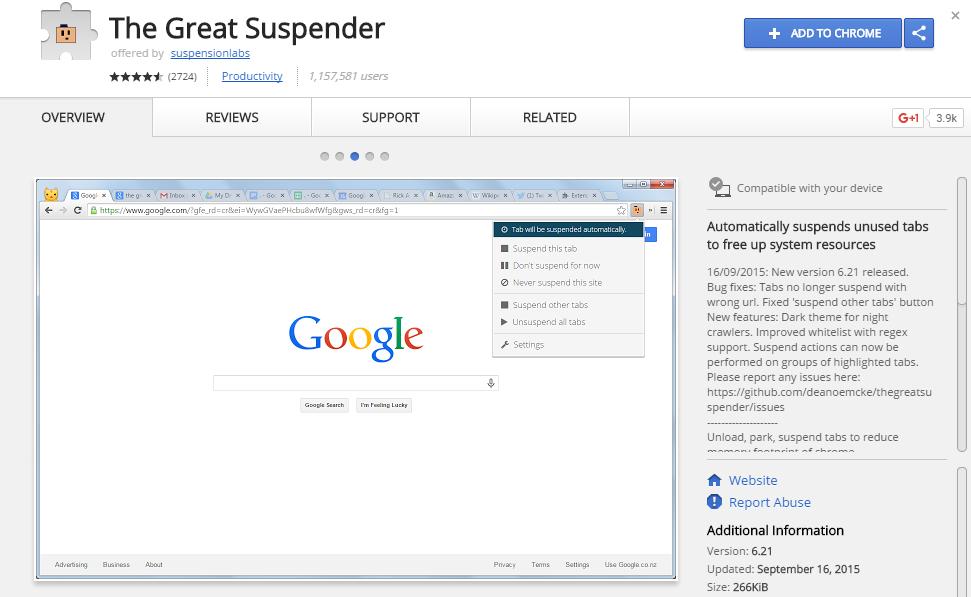 great-suspender